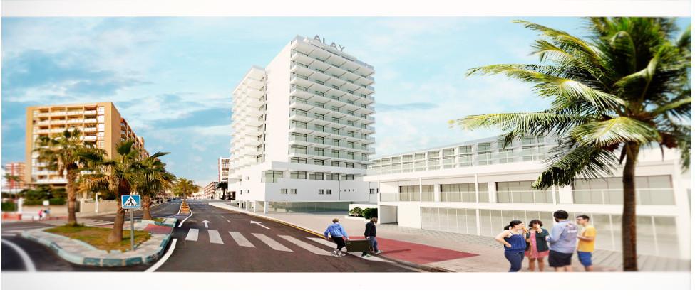 Hotel Alay refurbishment - reopens May 2016