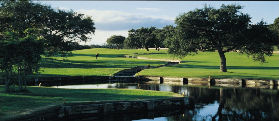 San Roque Old Course 7th Lake Hole