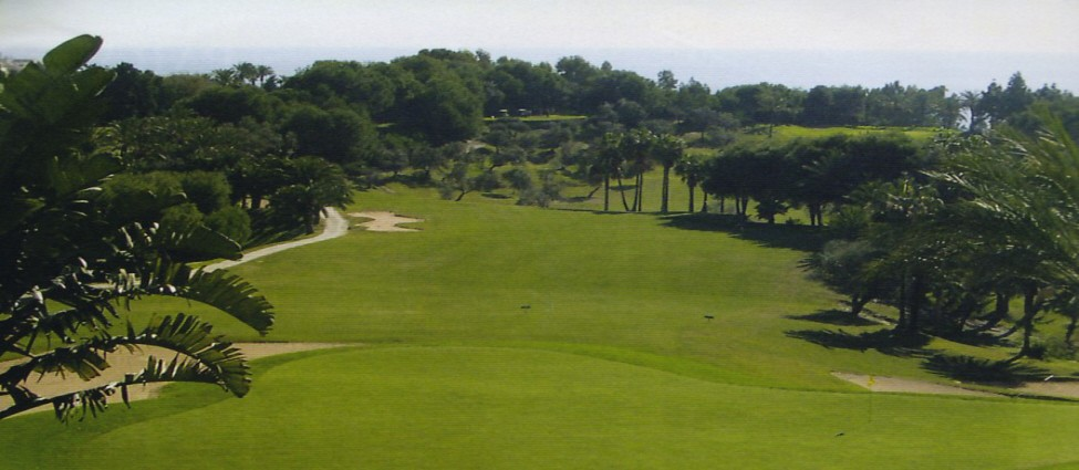 Torrequebrada Golf Course Sea View